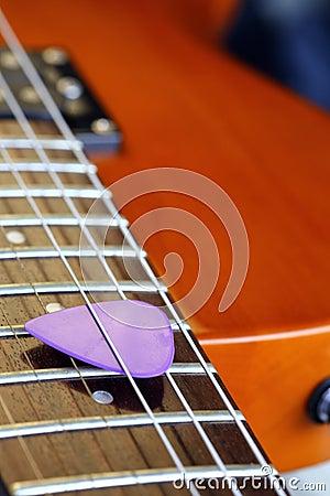 Free Guitar Pick Stock Photo - 40006690
