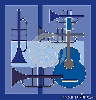 Guitar plus trumpet