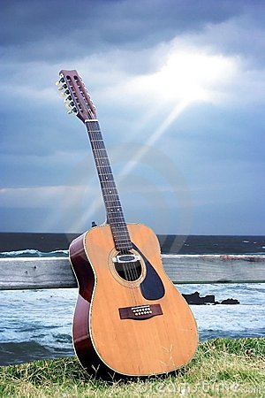 Guitar and Ray of Light