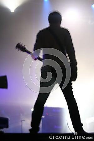 Guitar Solo in concert