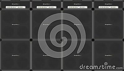 Guitar stack