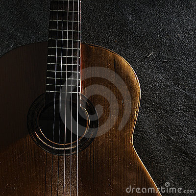 Free Guitar Still Life Royalty Free Stock Photo - 6416775