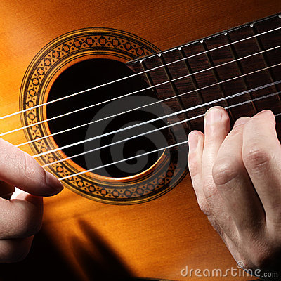 Guitar string.