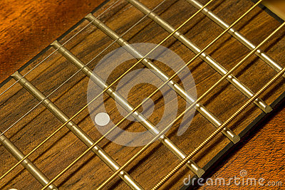 guitar strings close up stock photo image 51160114. Black Bedroom Furniture Sets. Home Design Ideas