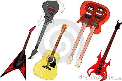 Guitar unique