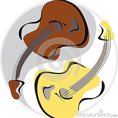 Guitar yinyang