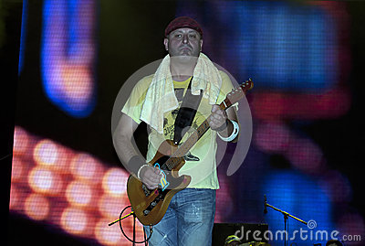 Guitarist Editorial Image