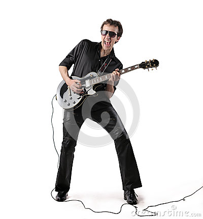 Free Guitarist Stock Images - 41424194