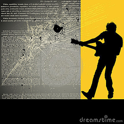 Guitarist background