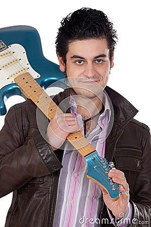 Guitarist leather jacket