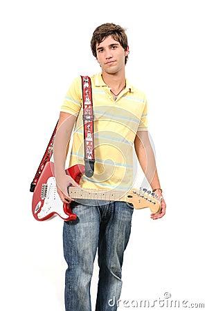 Guitarist teen