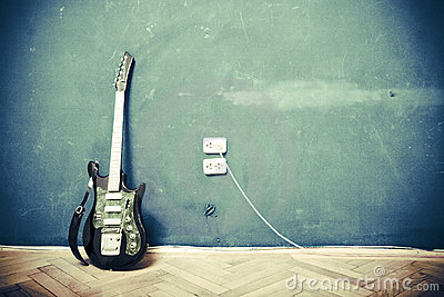 Guitarra de Grunge