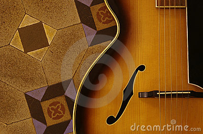 Guitarra del jazz