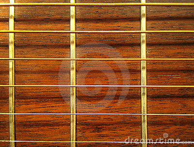Guitarra - modelo de Fretboard