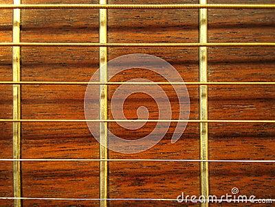 Guitarra - teste padrão de Fretboard