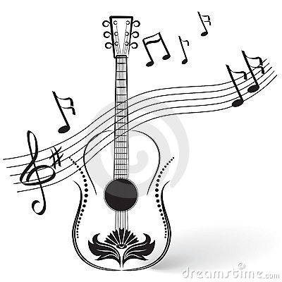 Guitarra y notas