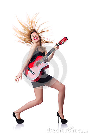 Guitarrista femenino