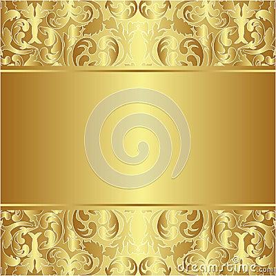 Guld- bakgrund