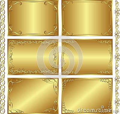 Guld- bakgrunder