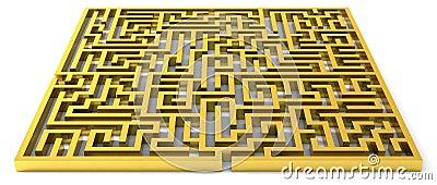 Guld- maze