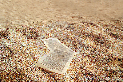 Guld- papper sands ark