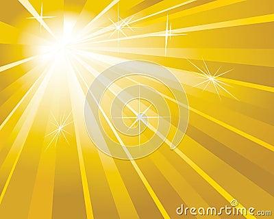 Guld- shine för bakgrund