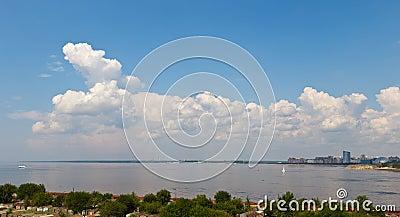 Gulf of Finland in Sankt-Peterburg