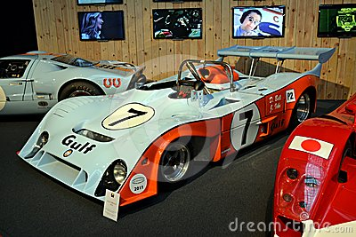 Gulf mirage race car Editorial Stock Image