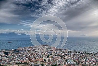 Naples Bay and Capri Island