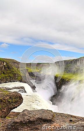 Free Gulfoss Waterfall, Iceland Royalty Free Stock Image - 33628296