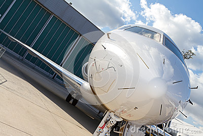 Gulfstream G650 Editorial Stock Photo