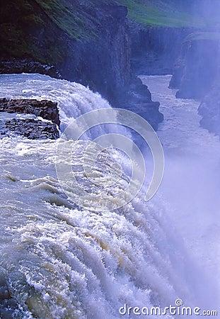 Free Gullfoss Waterfall Royalty Free Stock Photography - 5571197