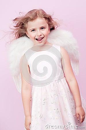 Gullig ängel