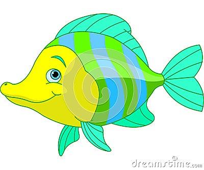 Gullig fisk