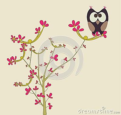 Gullig owl