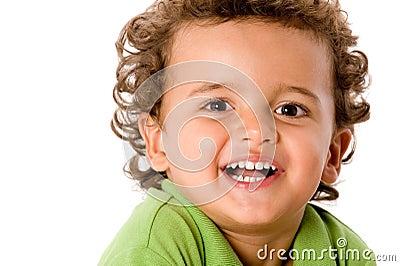 Gulligt barn för pojke