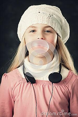 Gum bubble