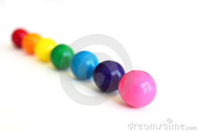 Gumballs in a Row