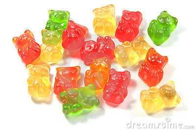 Gummi Bears For Kids and Children Editorial Stock Image