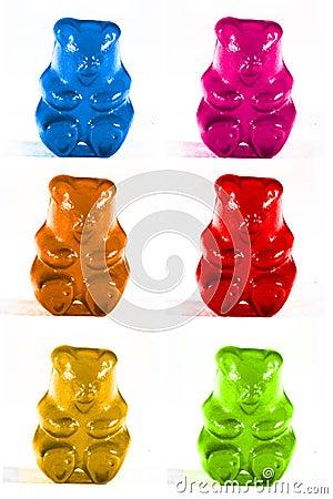 Free Gummy Bears Royalty Free Stock Photo - 10092975