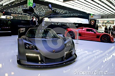 Gumpert Apollo Editorial Photography