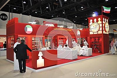 Gun & Ammunition at Abu Dhabi International Hunting and Equestrian Exhibition 2013 Editorial Stock Photo