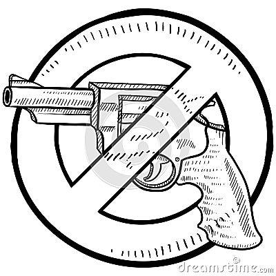Gun control sketch