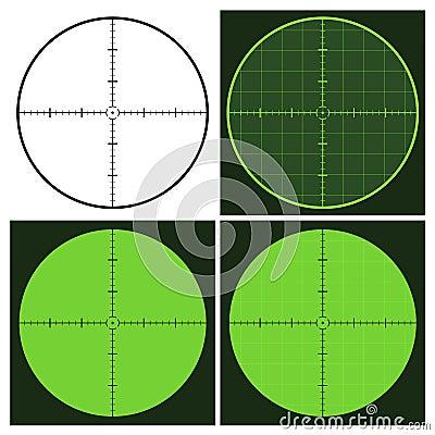 Free Gun Crosshair Sight Royalty Free Stock Image - 24115156
