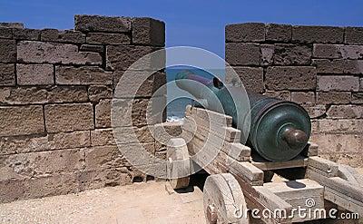 Gun on  essaouira rampart