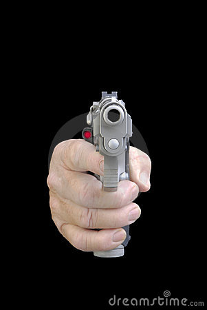 Free Gun In Hand Stock Images - 10150674