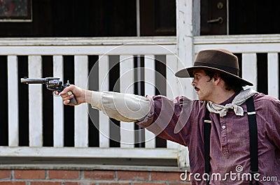 Gun men Editorial Photo