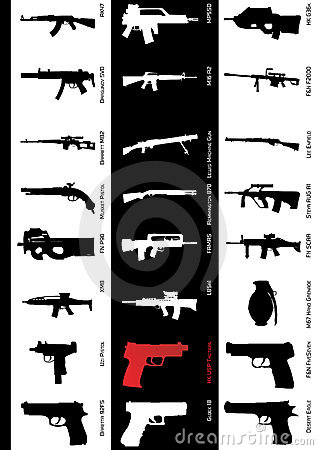 Free Gun Models Stock Photo - 8233500