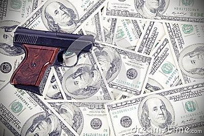 Gun on the money