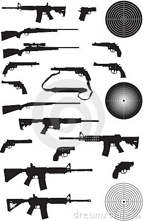 Gun Silhouette Collection